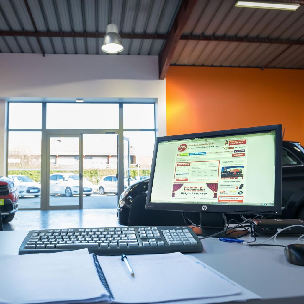 Devenez VPN Autos - Showroom concession Mérignac