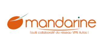 Logo site collaboratif VPN Autos Mandarine