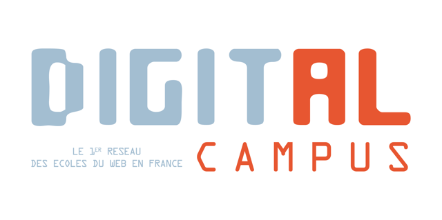 Logo école Digital Campus Bordeaux